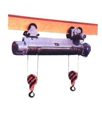 同筒双钩电动葫芦